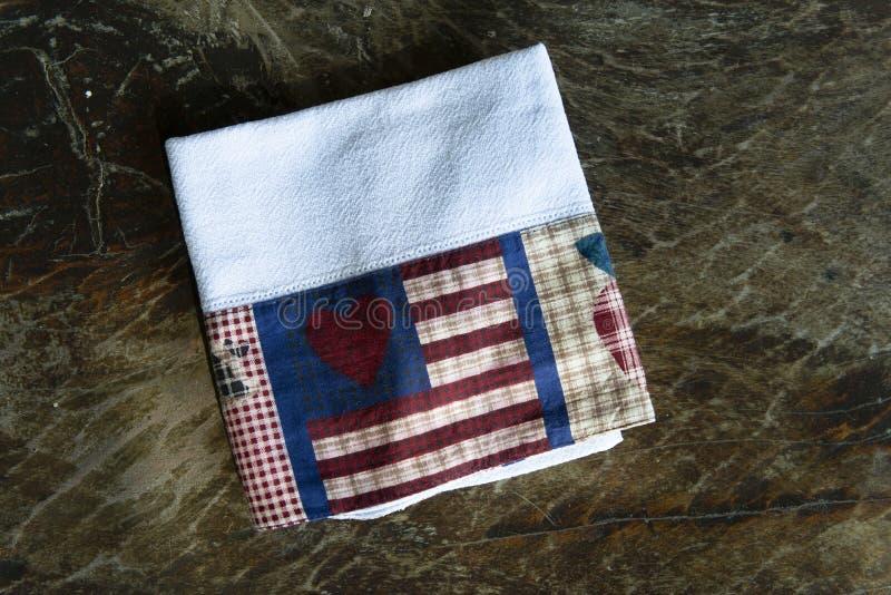 tissu fait main de plat photo libre de droits
