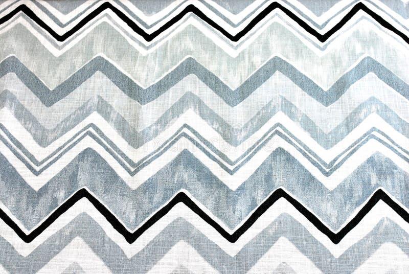Tissu géométrique photographie stock libre de droits