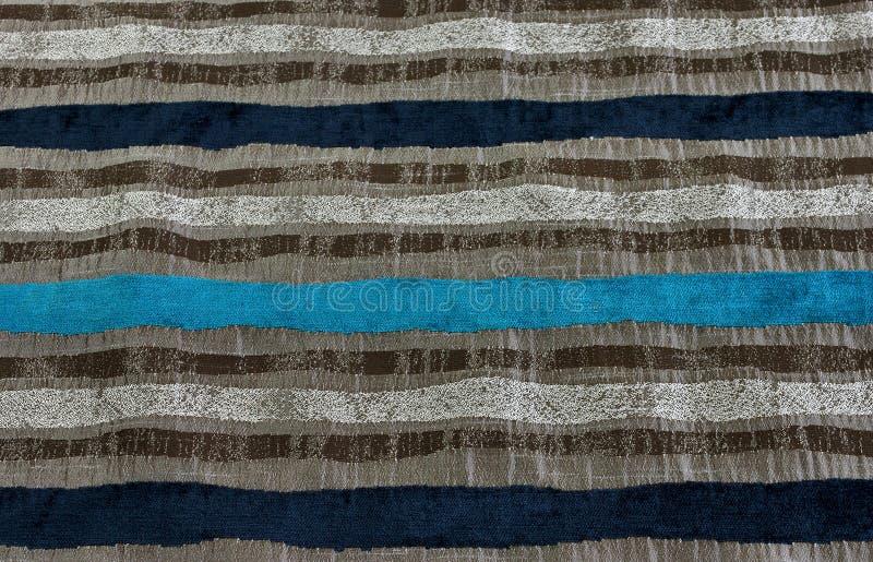 Tissu hardiment barré image stock