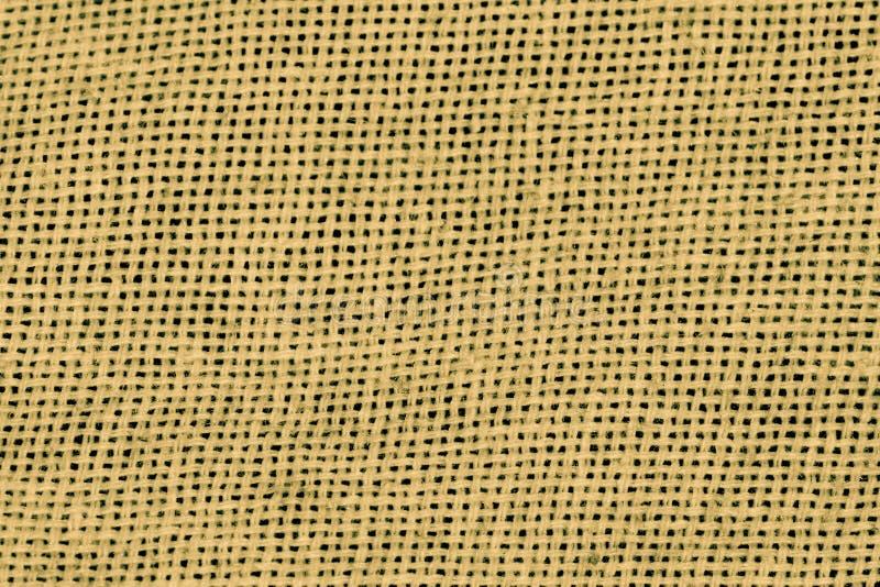 Tissu jaune Mesh Macro Shot illustration stock