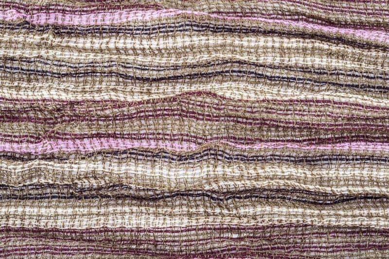 Tissu multicolore photographie stock libre de droits
