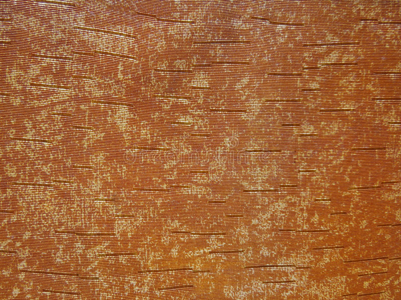 Tissu orange photos stock