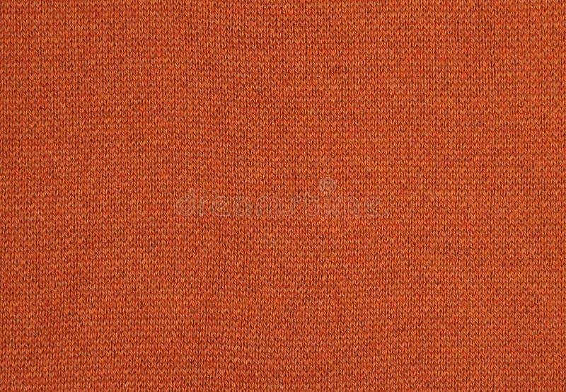 Tissu orange photographie stock