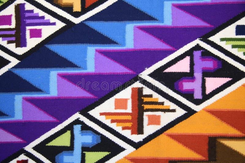 Tissu péruvien photos stock