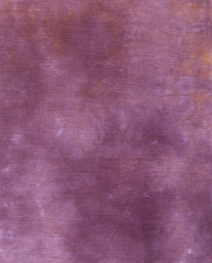 Tissu pourpré - souillé et âgé photo stock