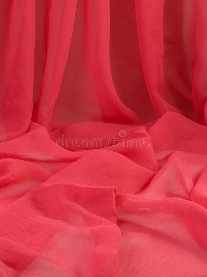 Tissu rouge. photos stock