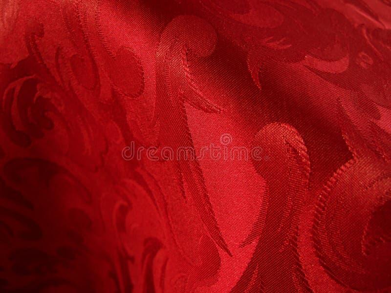tissu rouge chaud photos libres de droits