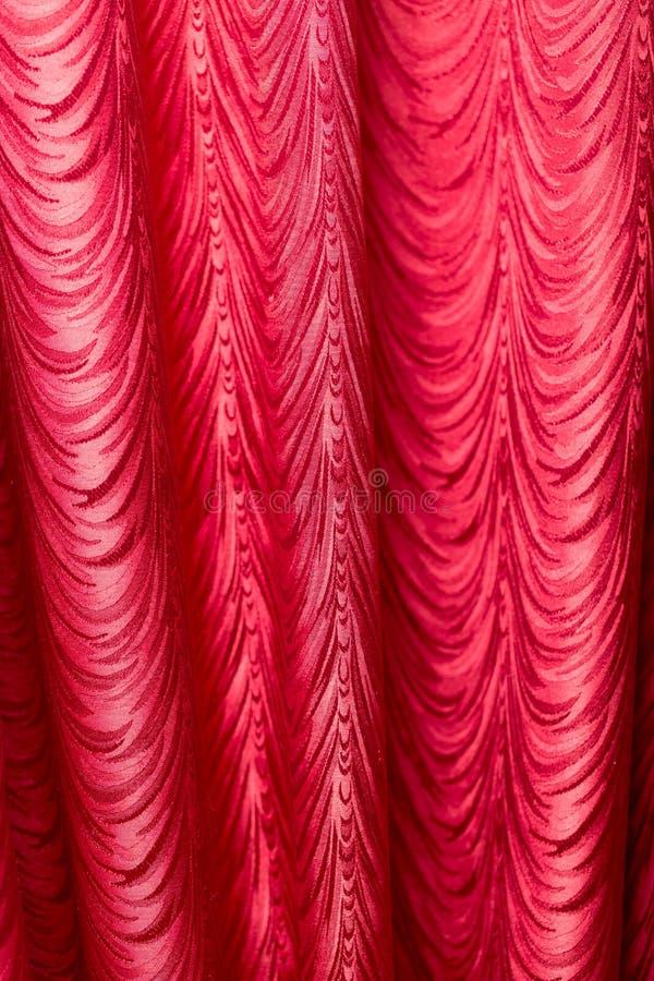 Tissu rouge comme fond Texture photo libre de droits