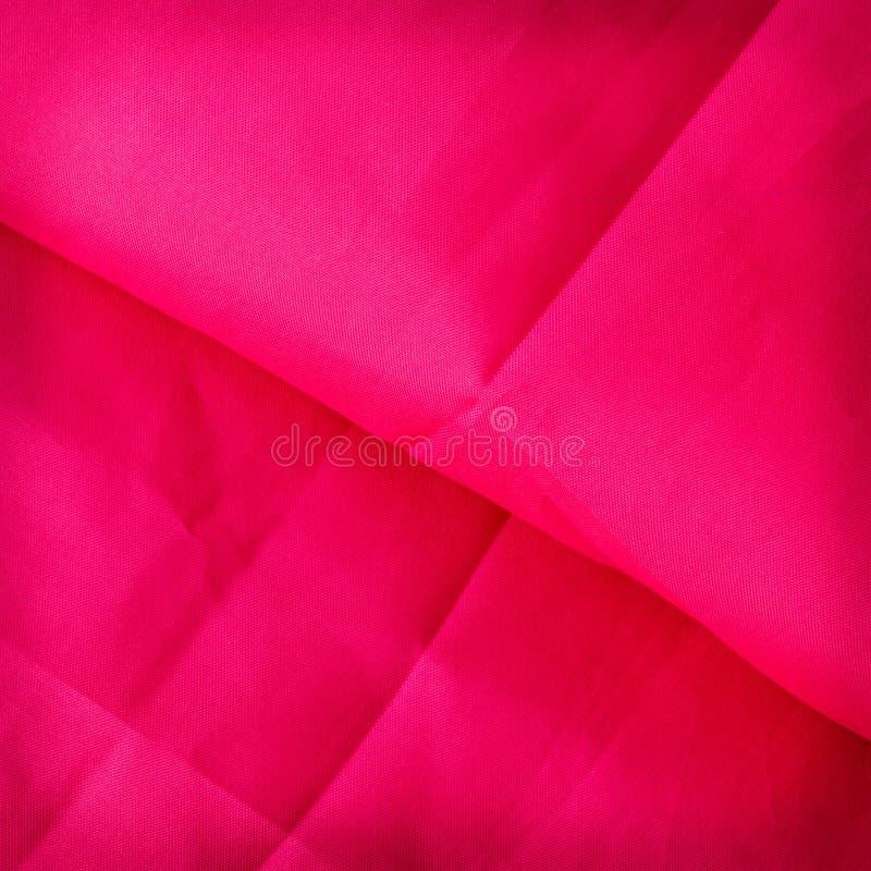 Tissu rouge d'abrégé sur fond ou illustration liquide de vague de wav images libres de droits