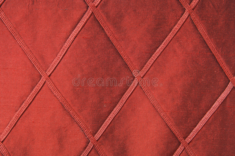 Tissu rouge luxueux comme fond images stock
