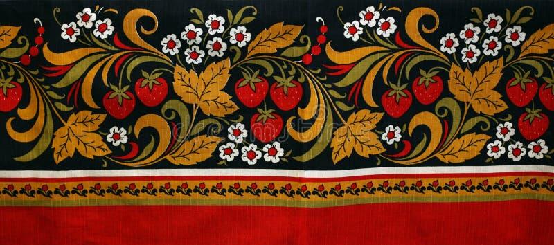 Tissu russe photo libre de droits