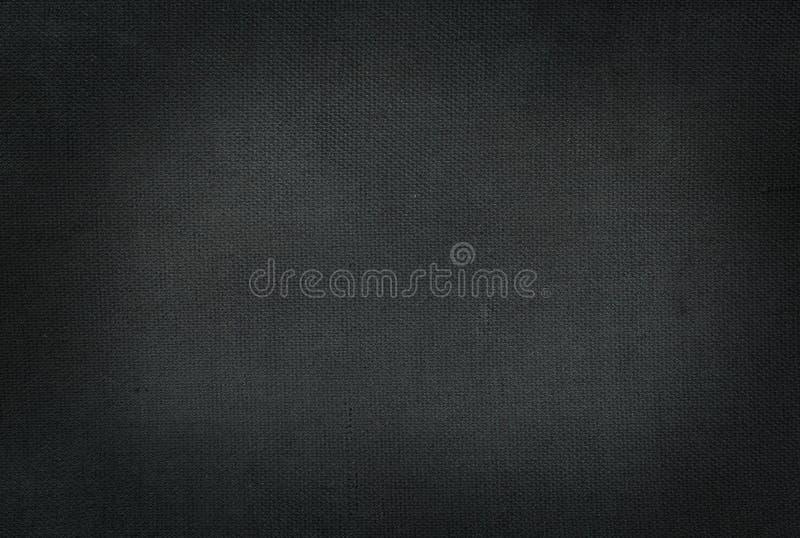 Tissu simple noir image stock