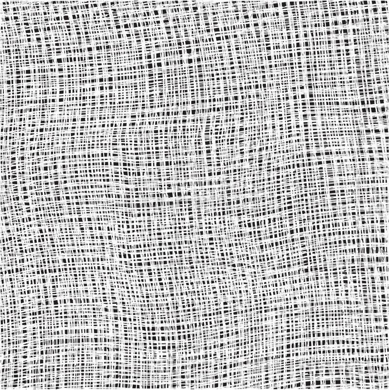 Tissu texturisé de coton blanc d'armure illustration stock
