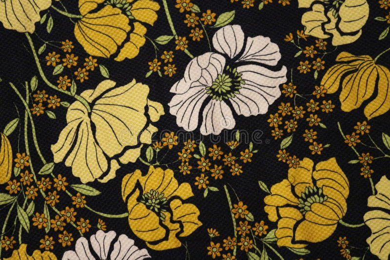 Tissu traditionnel de motif photos stock