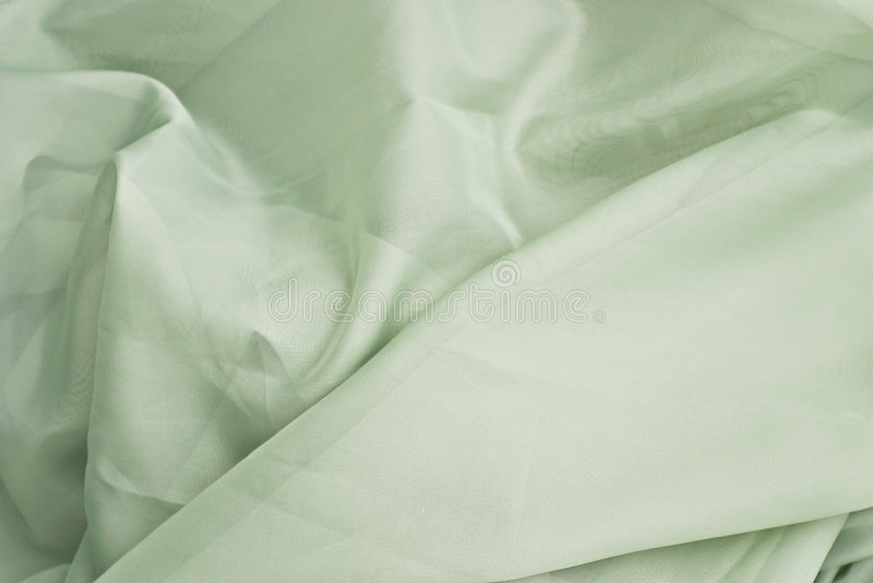 Tissu vert clair image stock