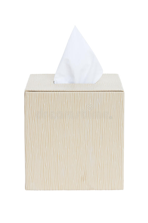 Tissue box stock image