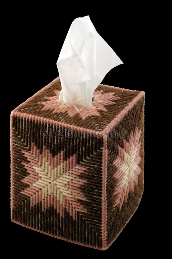 Tissue Box royalty free stock images