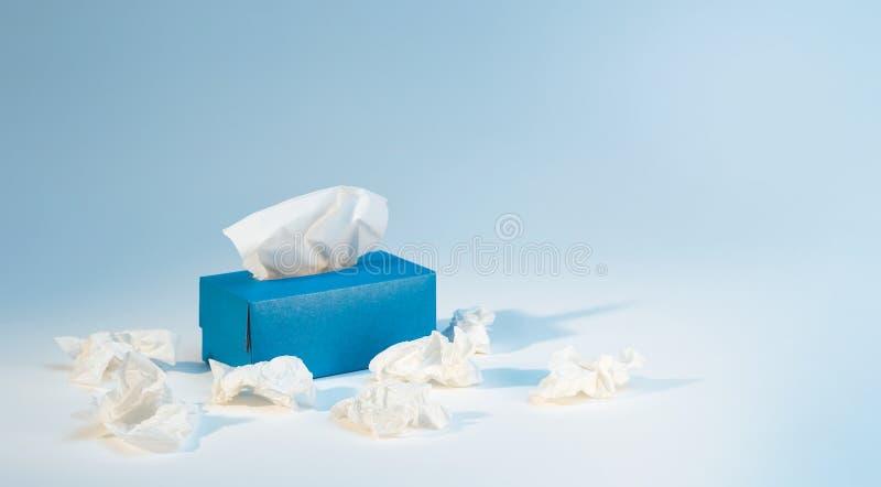 Tissue box stock images