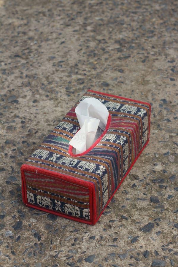 Tissue Box Elephant Is The Symbol Of Thailand Stock Image Image