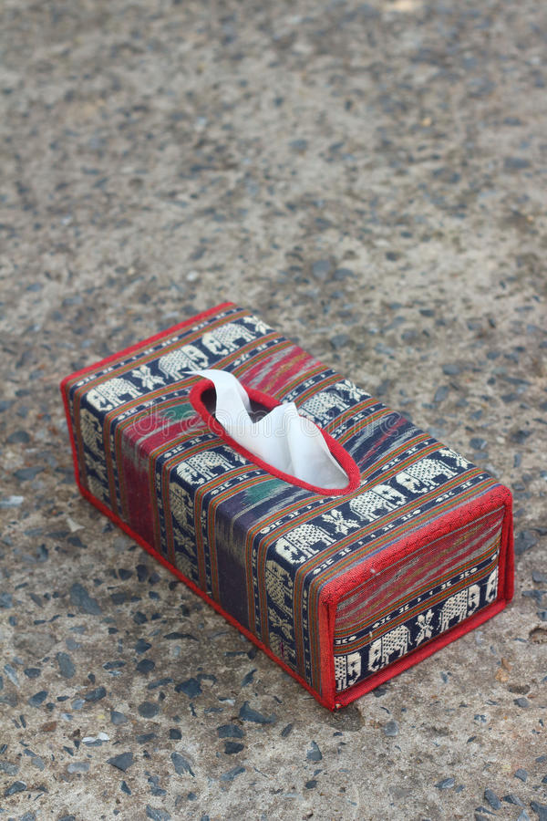 Tissue Box Elephant Is The Symbol Of Thailand Stock Photo Image