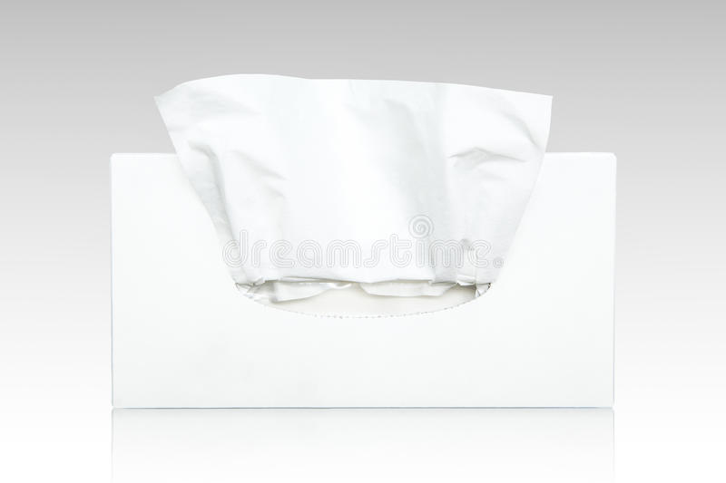 Tissue cartons mocked white tissue royalty free stock images