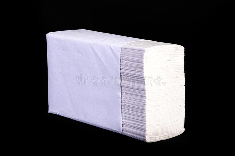 Tissue Paper for cleaning all hospital, house, office and industry and protect for the coronavirus and covid 19 with high quality. Picture and clipping path royalty free stock photography