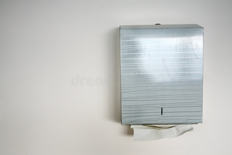 Download Tissue paper dispenser stock image. Image of concrete - 2499019