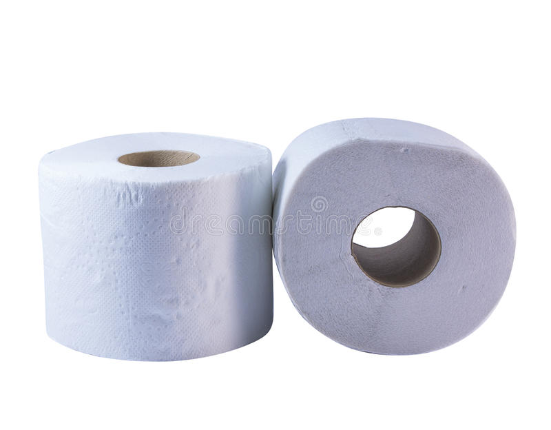 Tissue rolls stock photo