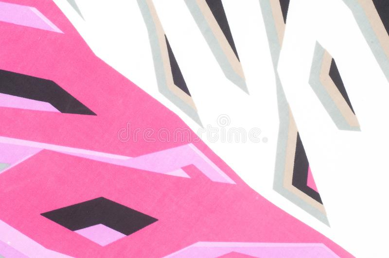 Tissue, textile, cloth, fabric, material, texture. Fabric photographed in the studio royalty free stock photography