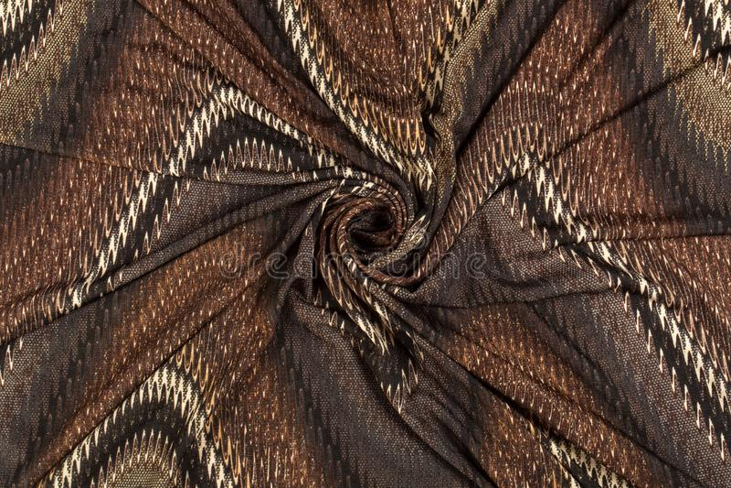 Tissus bariolés colorés photographie stock libre de droits
