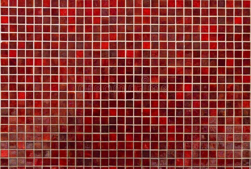 Tissus en céramique rouge vif, arrière-plan design image libre de droits