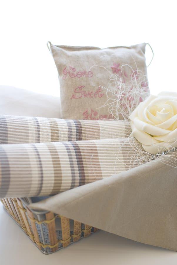 Tissus et produits de textile images libres de droits