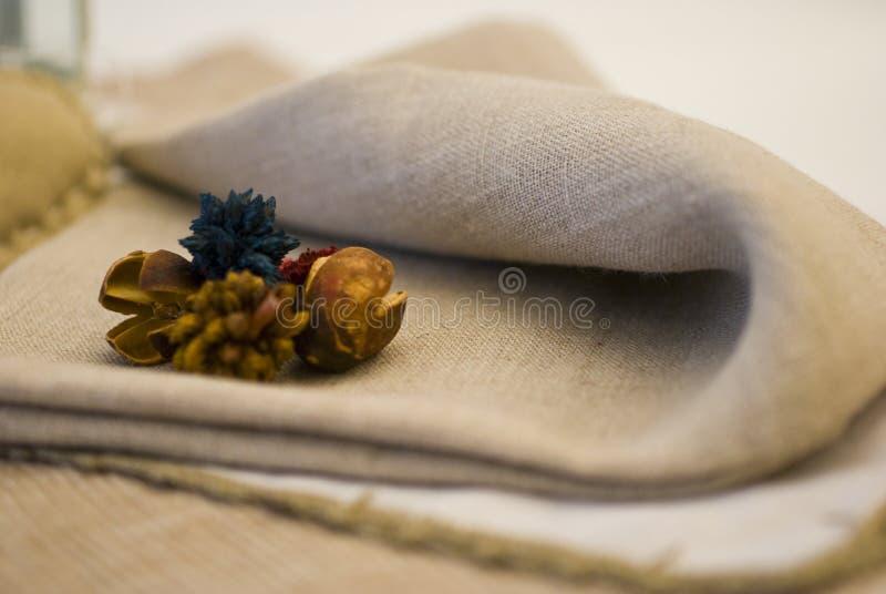 Tissus et produits de textile image libre de droits
