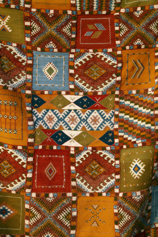 Tissus marocains images libres de droits