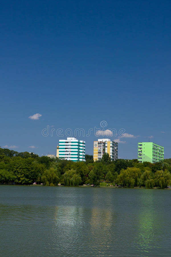Titan Park - Bucharest stock image