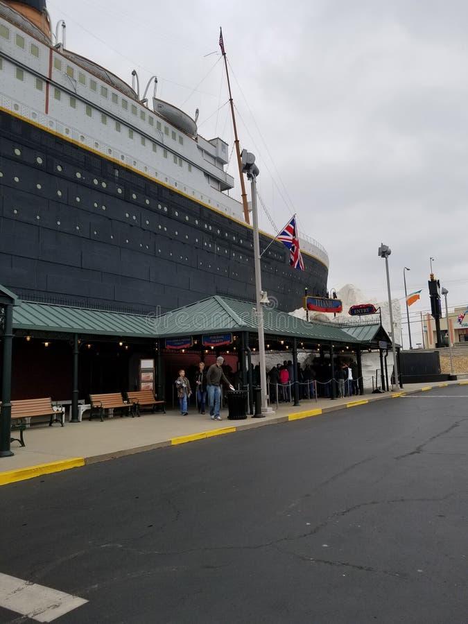 titanic imagenes de archivo