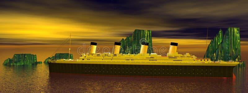 Titanico illustrazione vettoriale