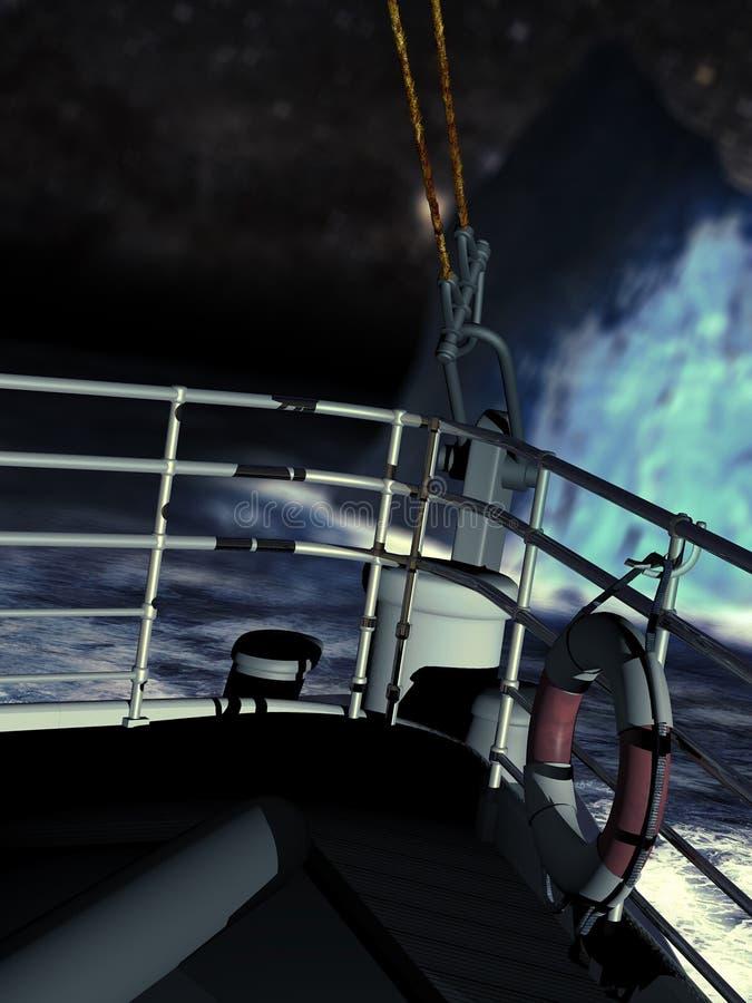 titanique illustration libre de droits
