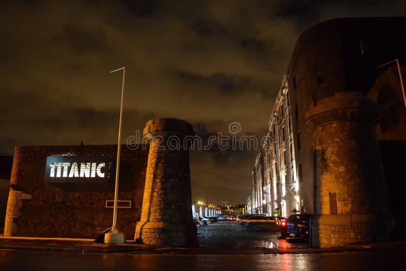Titanisches Hotel lizenzfreies stockfoto
