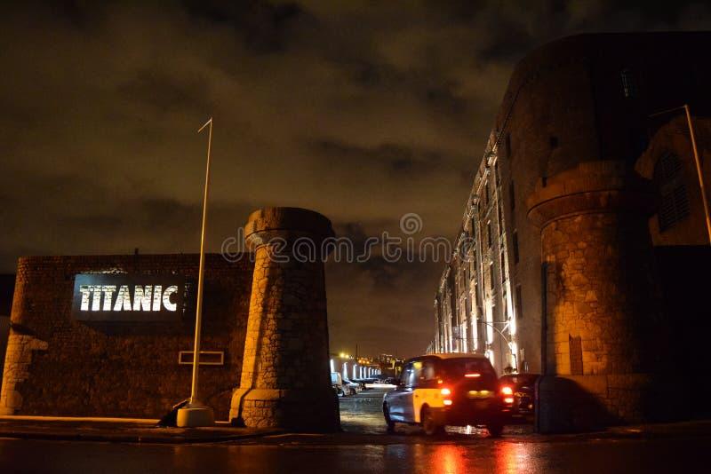Titanisches Hotel Liverpool stockfotos
