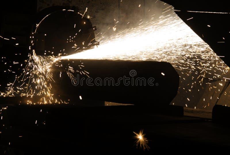 Titanium Bar Cut Stock Photos