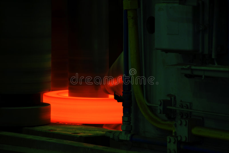 Titanium Processing Royalty Free Stock Photo