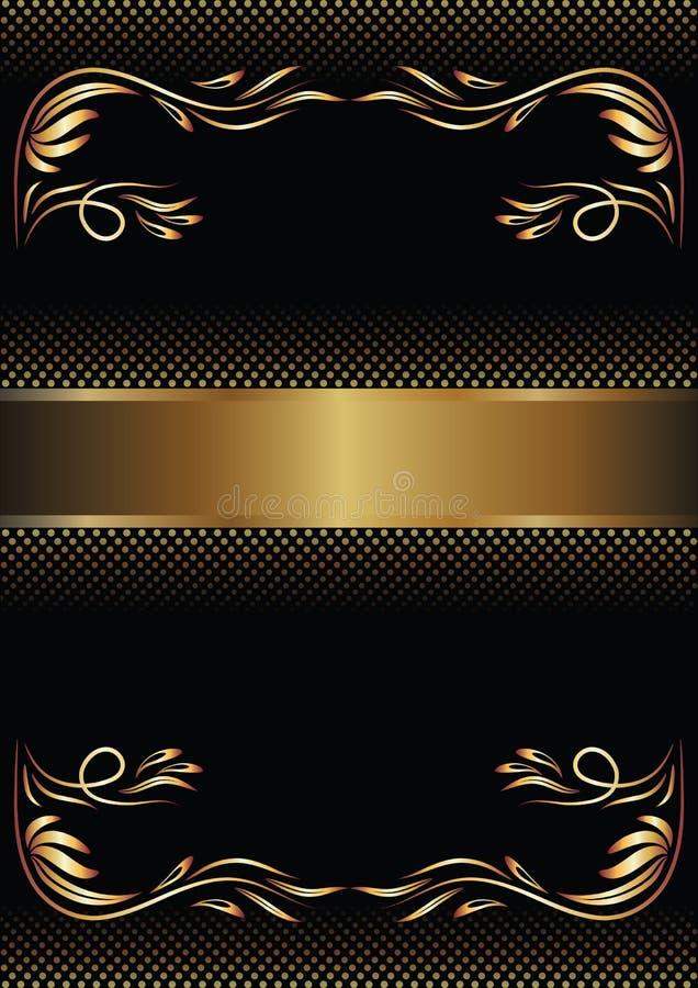 Titelblatt stock abbildung