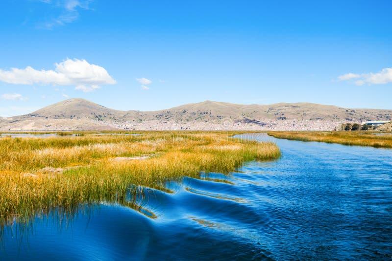 Titicaca湖 库存图片