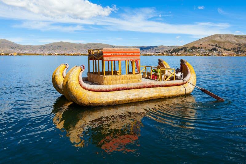 Titicaca湖 库存照片