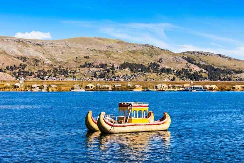 Titicaca湖 免版税库存照片