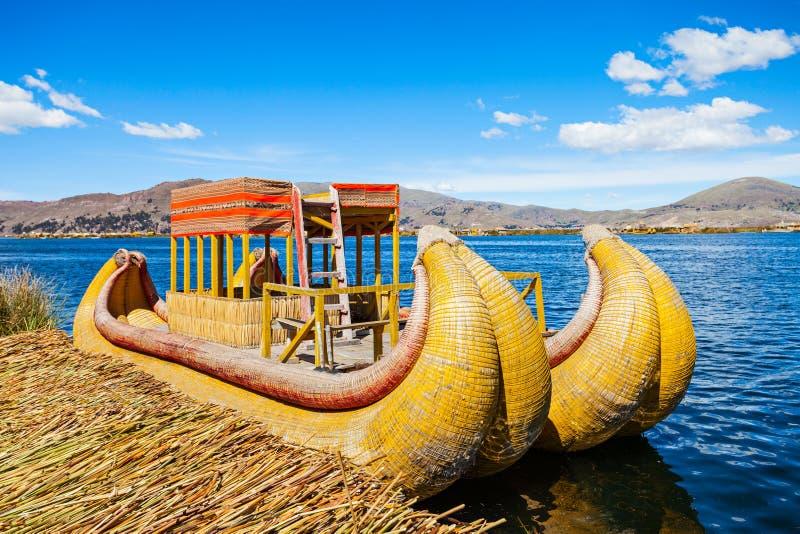 Titicaca湖 免版税图库摄影