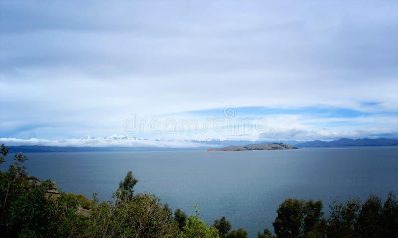 Titicaca湖 免版税库存图片