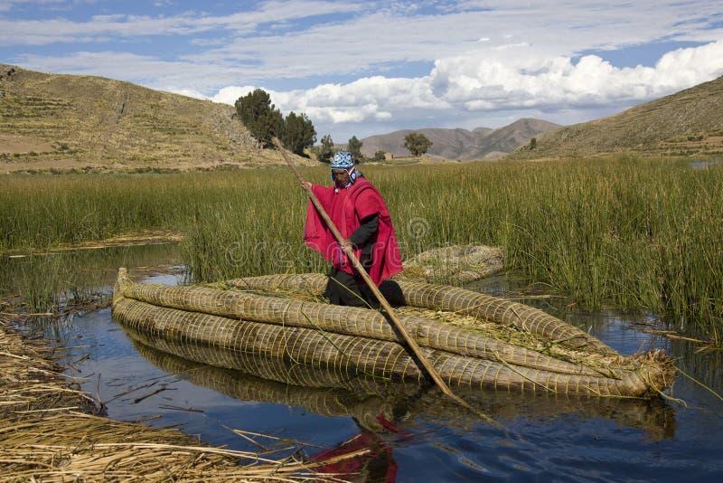 titicaca λιμνών της Βολιβίας στοκ εικόνες