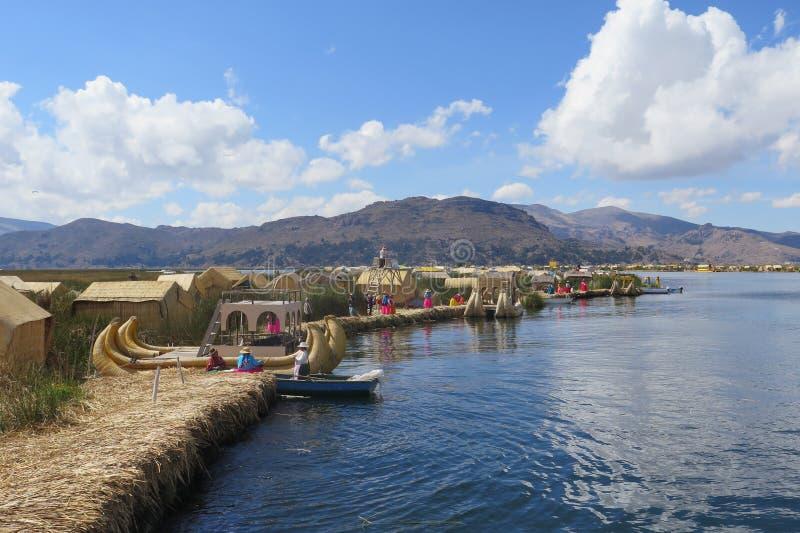 titicaca του Περού λιμνών στοκ φωτογραφία με δικαίωμα ελεύθερης χρήσης